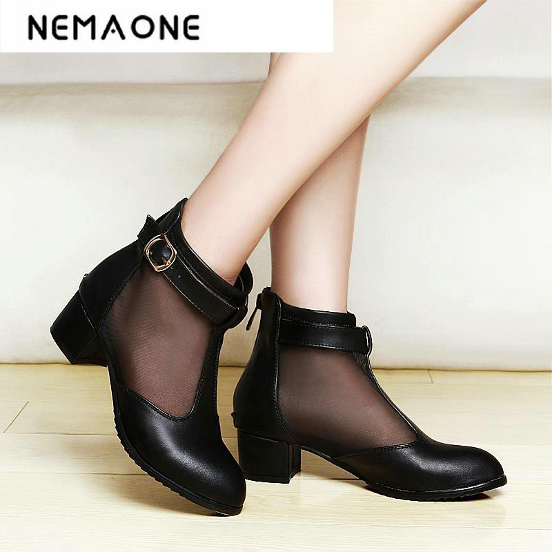spring and autumn womens shoes thick heels fashion women shoes sexy low heel ankle strap women pumps<br>