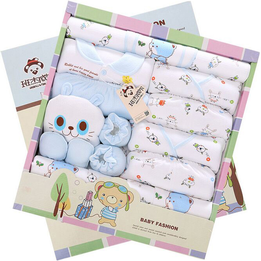 21Piece /Sets Newborn Gift Set New Style1 00% Cotton Baby Girl Clothes Cute Clothes Sets Free Shipping<br><br>Aliexpress