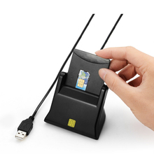 Zoweetek  12026-3 USB 2.0 Smart Card Reader New USB Smart Card Reader Support Network ATM Banking Transfers Tax Creadit Card