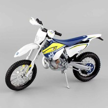 1:12 scale baby miniature KTM Motorcycle Motocross HUSABERG FE501 AMA Motorsports Dirt Bike racing Diecast metal model toy cars(China)