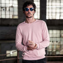 Buy 2017 NEW Autumn Solid Hoodies Fashion Cotton Men Long Sleeve O-neck Slim Hoodies Street Wear Harajuku Casual Sport Sweatshirt for $24.07 in AliExpress store