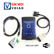 Hot Sale GM MDI WIFI Multiple Diagnostic Tool BOD2 Auto Code Scanner Car Code Reader Scan Tool Free shipping
