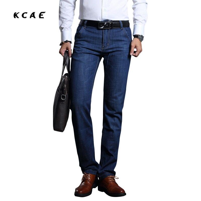 Men Straight Jeans- 2017 new fashion casual pants mens trousers qualityn Straight Loose Warm Pants size 28-40Îäåæäà è àêñåññóàðû<br><br>