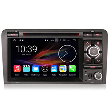 "7"" Quad-Core Android 7.1.2 Car DVD for Audi A3 2003-2012 & Audi S3/RS3/RNSE-PU with External DAB+ Receiver Box Support(China)"