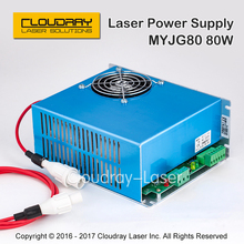 80W CO2 Laser Power Supply for CO2 Laser Engraving Cutting Machine MYJG-80
