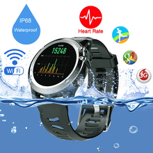 Waterproof outdoor sports smart watch H1 MTK6572 Dual Core Android os 5.1 Support 3G SIM card GPS Wifi Compass Fitness Tracker