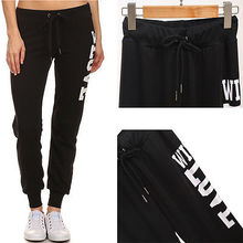 2017 new letter black Womens Harem Genie Aladdin Causal Gypsy Exercise Daily Pants Baggy Trousers