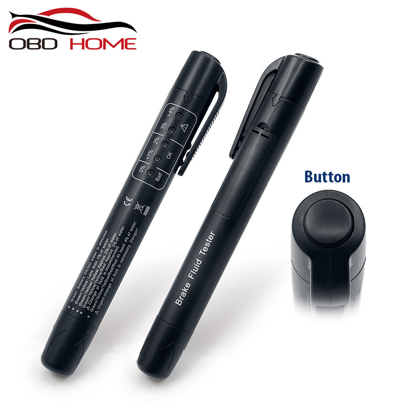 Brake-Fluid Vehicle-Tools Liquid-Tester OBD2 Auto Mini Pen No with 5 LED Car title=