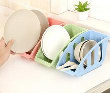3pcs/set Dish Rack Plates Draining Tray Dish Drainer Cutlery Drying Rack Tray Bowl Storage Rack Shelf Kitchen Accessories(China)