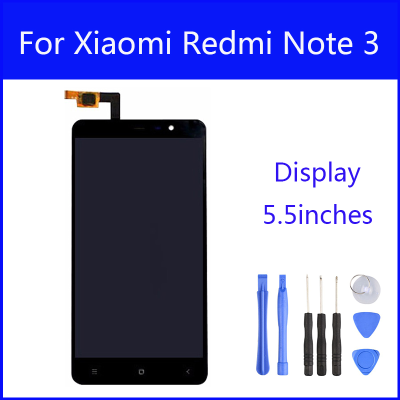 Original LCD For Xiaomi Redmi Note3 Display Screen Digitizer Touch Screen Hongmi Note 3 Pro Prime Glass Panel 5.5Inch FreeTools<br><br>Aliexpress