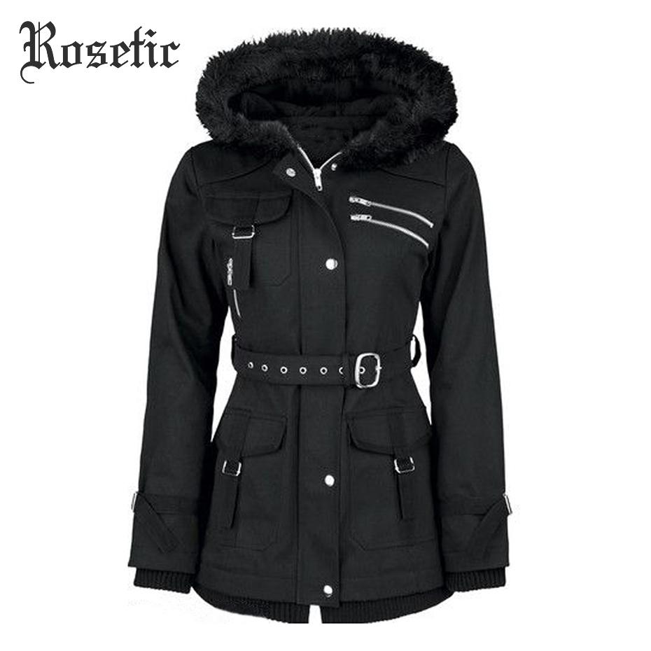 معطف الشتاء الدافئ مع حزام على الخصر 2