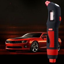 Utility Digital Tire Pressure Gauge with LED Light Windows Breaker and Belt Cutter(China)