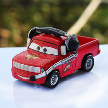 Disney Pixar Cars McQueen Mater 6 Styles Pick-up Truck The King McQueen 1:55 Diecast Metal Alloy Toys Cars For Kids Collection(China)