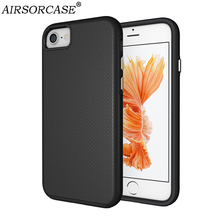 Buy Apple iPhone 7 8 Plus Case 8Plus Cover iPhone7 iPhone8 Case Hard PC & TPU Hybrid Non-slip Back Cover Matte Phone Cases for $4.24 in AliExpress store