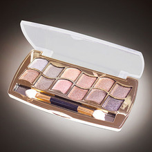 2016 New Product 12 Colors Diamond Bright Colorful Eye Shadow Palette Super Flash Glitter Makeup 9R67(China)
