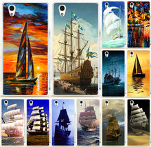 1PC/lot Smooth Sailing Ship Pirate Ship PC Capa Hood PC Hard Back Case For Lenovo P70 P70T Mobile Phone Cover Skin Shell Capa
