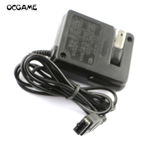 OCGAME 60pcs/lot US &EU plug Power Recharger AC charger Adapter for GBA SP Console(China)