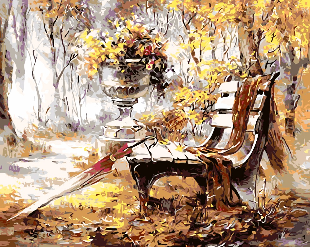 обои на рабочий стол картины известных художников осень № 247489 бесплатно