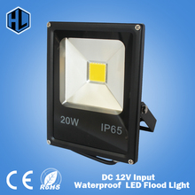 1 pce 10W 20W 30W 50W 100W DC12V Waterproof LED Flood Light Warm/Cold white/Red/Blue/Green/Yellow Outdoor Light LED Floodlight