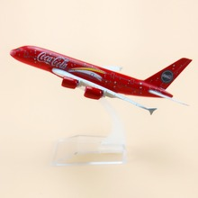 16cm Alloy Metal Red Air Malaysia Airlines Airbus 380 A80 Airways Plane Model Aircraft Airplane Model w Stand  Gift