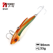 Retail Noeby hot model fishing lures hard bait different colors 9cm 33g minnow,quality professional VIB Hunt house(China)