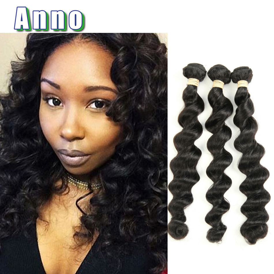 6a Brazilian Loose Wave Virgin Hair 3pcs Lot Queen Love Hair Products Star Style Hair Unprocessed Brazilian Virgin Human Hair <br><br>Aliexpress