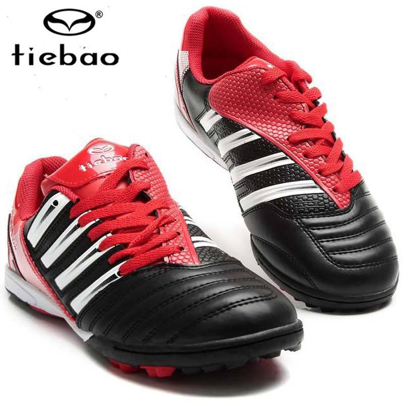 Tiebao New Arrival Football Boots Professional Sports Shoes  Soccer Shoes crampons de foot hautes chevilles<br><br>Aliexpress