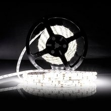 Flexible Led Strip Light 600LEDs Waterproof LED Band Lamp White/Warm White Led Super Briaght 5m Ribbon For Home And Garden(China)