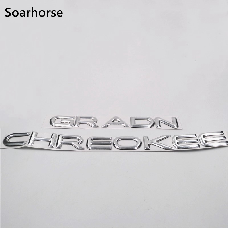 Jeep Grand Cherokee 1999-2004 4X4 CHROME emblem badge