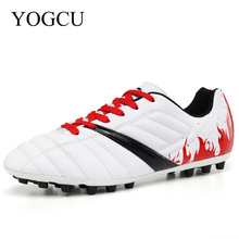YOGCU Soccer Shoes Men Kids Chuteira Futebol Original Soccer Cleat Superfly Football Boots Men Sneakers Superfly Men Breathable(China)