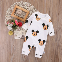 Newborn Infant Baby Boy Girls Jumpsuit Bodysuit Outfit Clothes Set