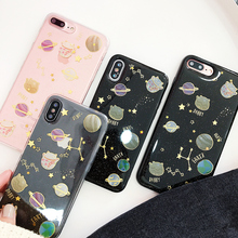 Buy Space planet Glitter phone Cases iphone X 7 7Plus lucky cat Soft silicon Case iphone X 6 6s 6Plus 8 8plus back cover for $3.68 in AliExpress store