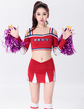 MOONIGHT Free Shipping Little girl Cheerleaders Costume Party Play cheerleader clothes big Brand Fashion Women Clothing