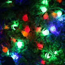 3M 20lED Lights Decoration Scrub Round Fairy String Lights Lamp for Indoor/Outdoor Decoration Christmas Wedding Supplies(China)