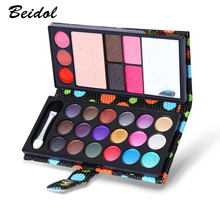 Small Makeup Eyeshadow Palette 26 Colors Fashion Eye Shadow Make Up Shadows With Case Cosmetics For Women Matte Long-lasting(China)