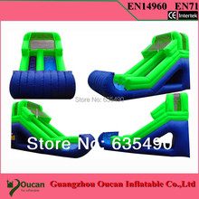 Large Octopus Inflatable Pool With Big Slide,Giant Inflatable Water Park For Kids,Inflatable Water Slide(China)