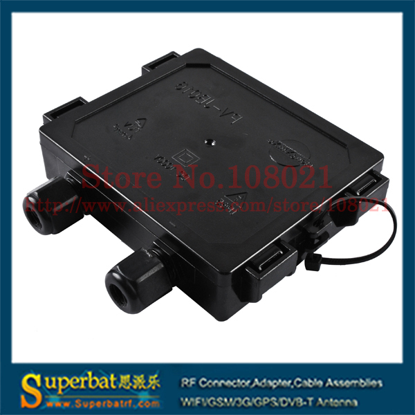 Superbat 3 Rails 2 Diodes Details Copper Contact 7A 1000V DC Solar Junction Box 100*74*21mm for Low power PV module 80-110W<br><br>Aliexpress