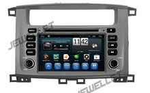 Eight core 1024*600 HD screen Android 6.0 Car DVD GPS Navigation for Toyota Land Cruiser 100, Lexus LX470