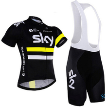 2017 Men's Cycling Jersey cyclisme equipe pro MTB Bike Clothing SKY Team Cycling Clothing Ropa Ciclismo Jerseys PRO Bicycle Wear