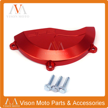 Right Side Engine Cover Guard For HONDA CRF450R CRF450 R 2009 2010 2011 2012 2013 2014 2015 2016 Motorcycle CNC Dirt Pit Bike