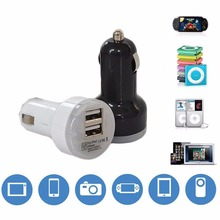 USB Port Double Dual Mini Car Charger Adapter Power For HTC Desire 620 626 628 630 728 810 820 825 828 826 830 etc.
