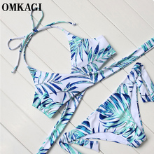 OMKAGI Brazilian Bikini 2017 Swimsuit Swimwear Women Bathing Suit Biquini Push Up Bikini Set Maillot De Bain Femme Beachwear