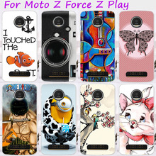 TAOYUNXI Phone Case For Motorola Moto Z Play Force Droid 2016 Vertex Moto X 4 XT 1635-03 XT1635 Covers Plastic TPU Skin Hood(China)