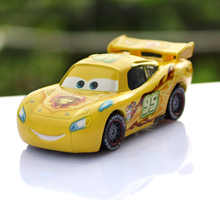 Pixar Cars 2 1:55 Scale Diecast Metal Yellow Limit Version Lightning Mcqueen Alloy Toys Car Model Brand New Hot Sale Cartoon Car