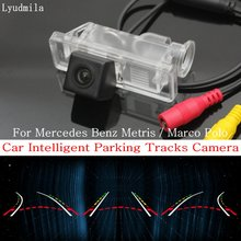 Lyudmila Car Intelligent Parking Tracks Camera FOR Mercedes Benz Metris / Marco Polo Back up Reverse Camera / Rear View Camera(China)