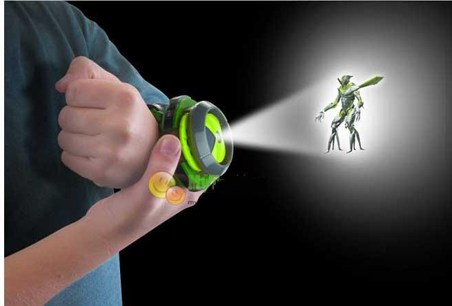 Hot Selling ben 10 omnitrix watch Style Kids Projector Watch Japan Genuine Ben 10 Watch Toy Ben10 Projector Medium Support Drop(China (Mainland))
