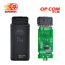 2017 Hot Selling op-com Latest V1.45 Version OBD2 Code reader Opcom For Opel Scan Tool OP COM Diagnostic tool free shipping(China)