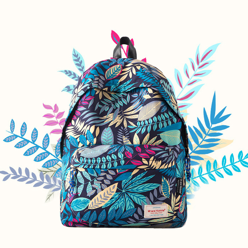 2016 Youth Backpack Chic Preppy Style School Bags For Girls Women Bagpack Satchel Unique Designers Laptop Travel Bags batoh<br>