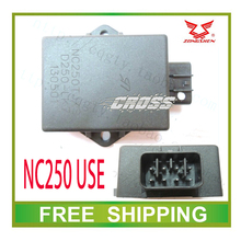 ZONGSHEN 250CC NC250 8PINS  XMOTOS APOLLO BSE KAYO XZ250R T4 T6 OFF ROAD MOTORCYCLE cdi box 12000rmp accessories free shipping