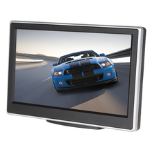 Brand New Super Car Monitor 5 Inch 480 x 272 Pixel TFT LCD Monitor Color Car RearView Monitor + 420 TV Lines Night Vision Camera